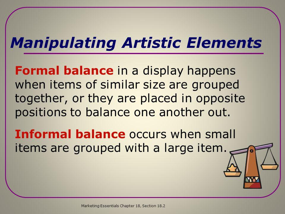 Manipulating Artistic Elements