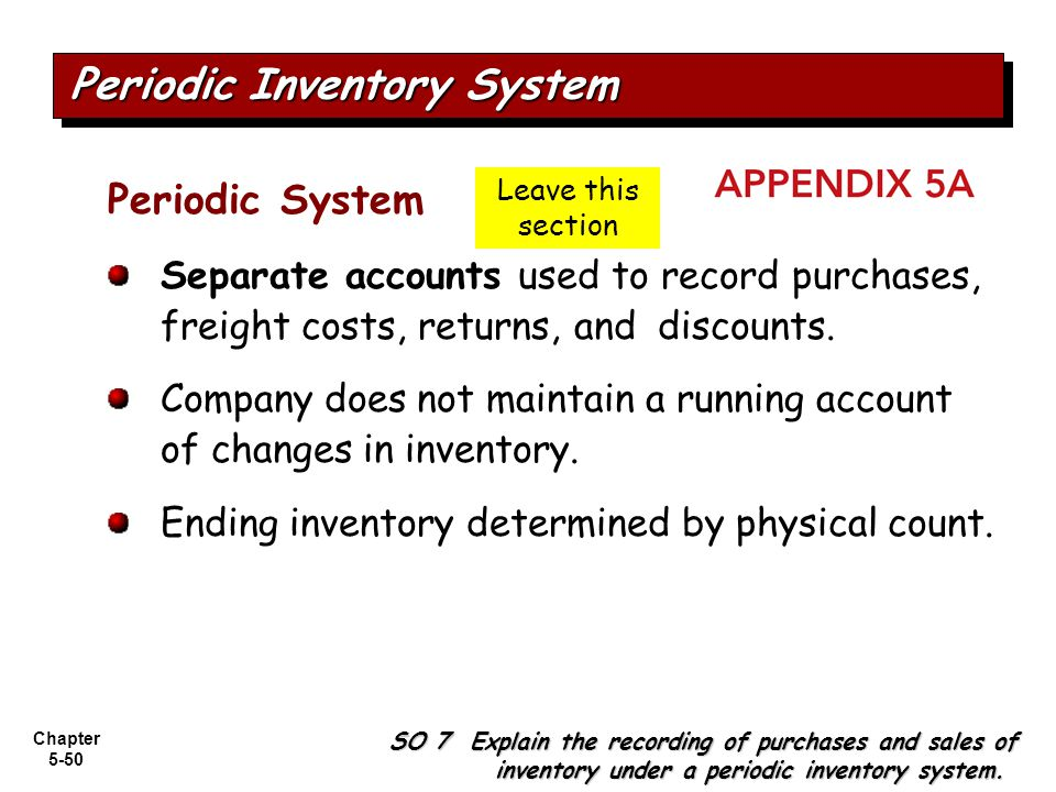 local companies using a inventory system Cogs is a fundamental income statement account, but a company using a periodic inventory system will not know the amount for its accounting records until the physical count is completed suppose a company has beginning inventory of $500,000 at january 1 the company purchases $250,000 of inventory.
