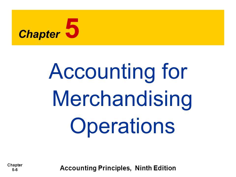 Accounting Principles, Ninth Edition
