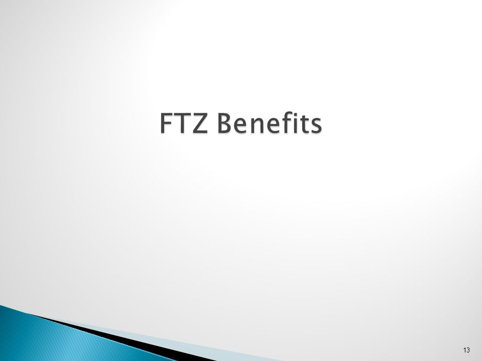 FTZ Benefits