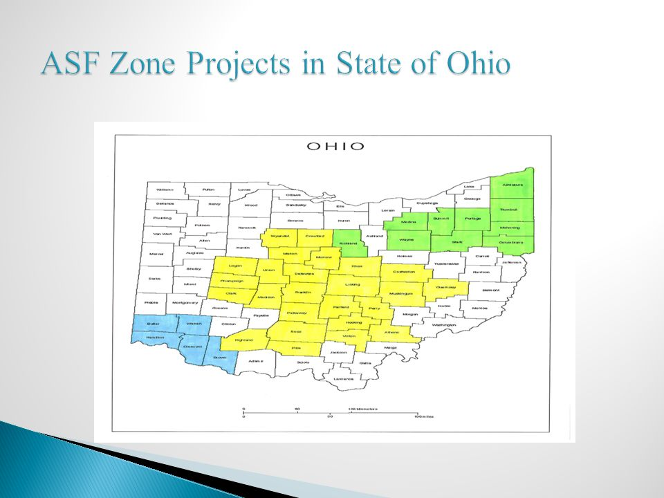 ASF Zone Projects in State of Ohio