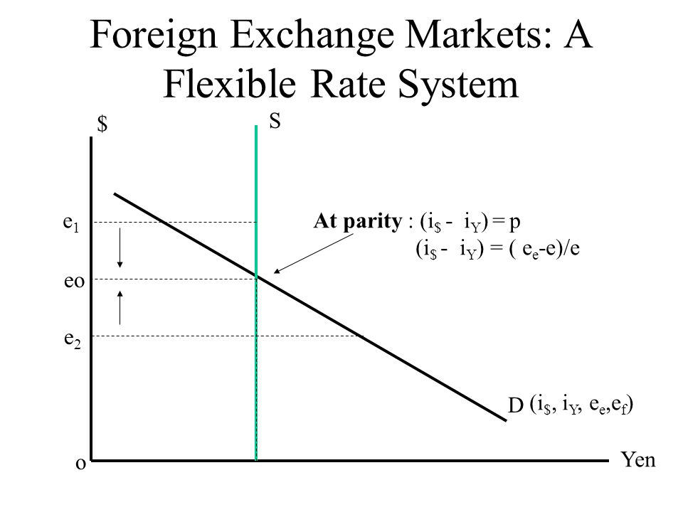 Foreign Exchange Markets: A Flexible Rate System