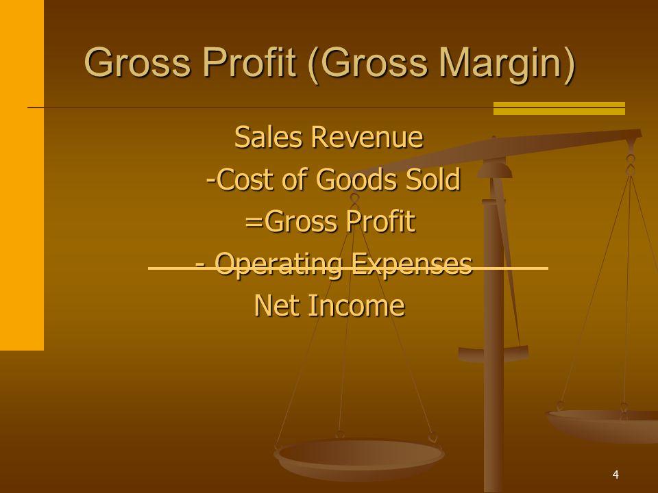 Gross Profit (Gross Margin)