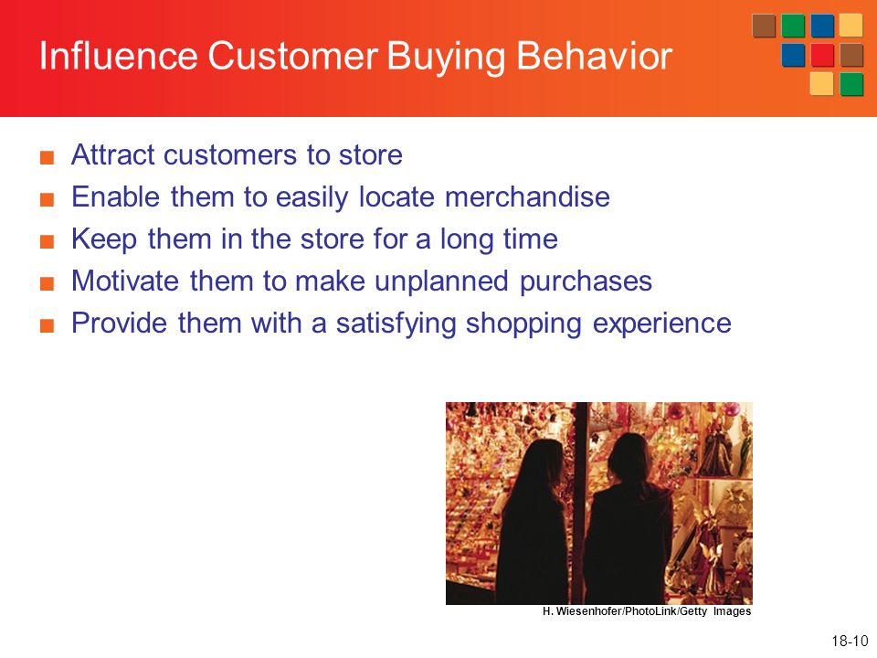 Influence Customer Buying Behavior