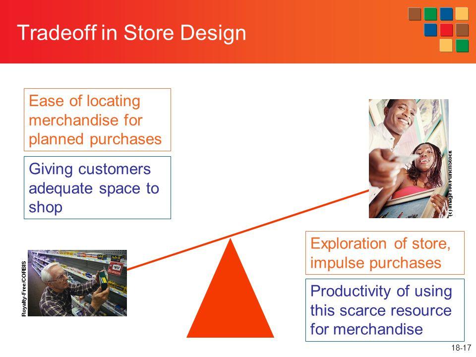 Tradeoff in Store Design