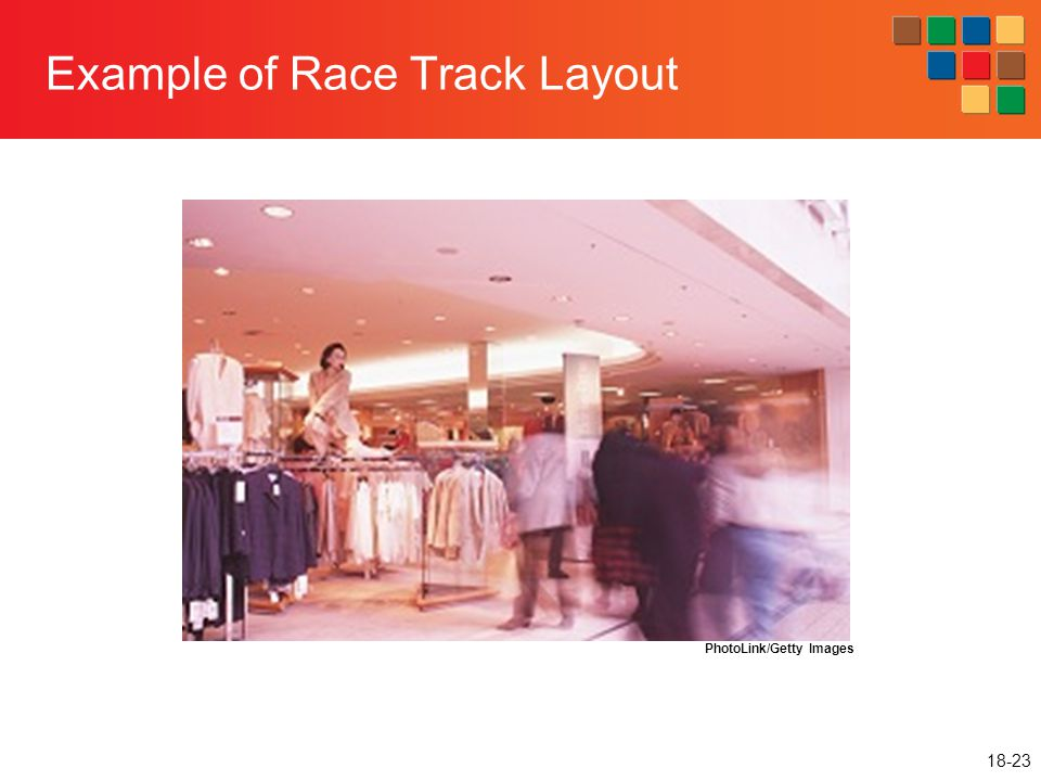 Example of Race Track Layout