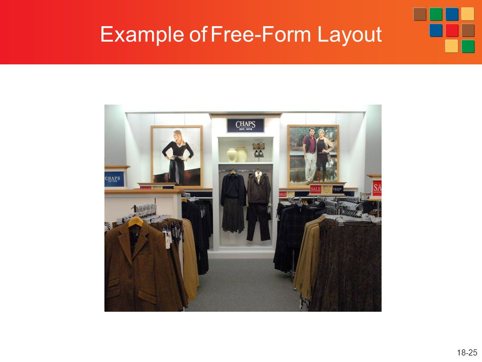 Example of Free-Form Layout