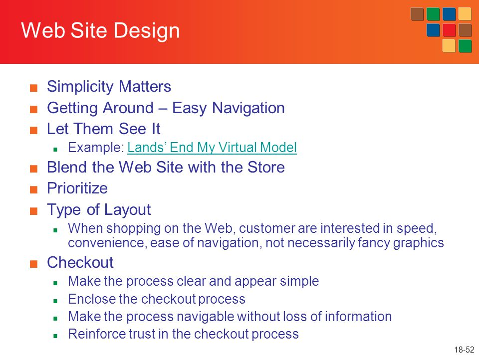 Web Site Design Simplicity Matters Getting Around – Easy Navigation