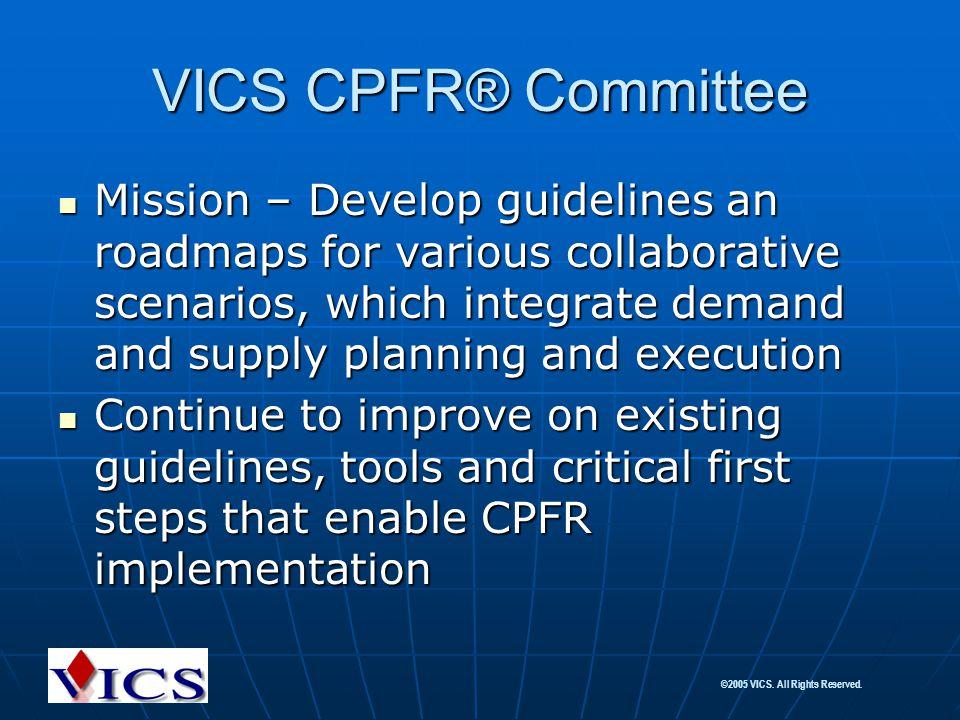 VICS CPFR® Committee