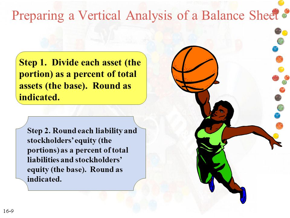 Preparing a Vertical Analysis of a Balance Sheet