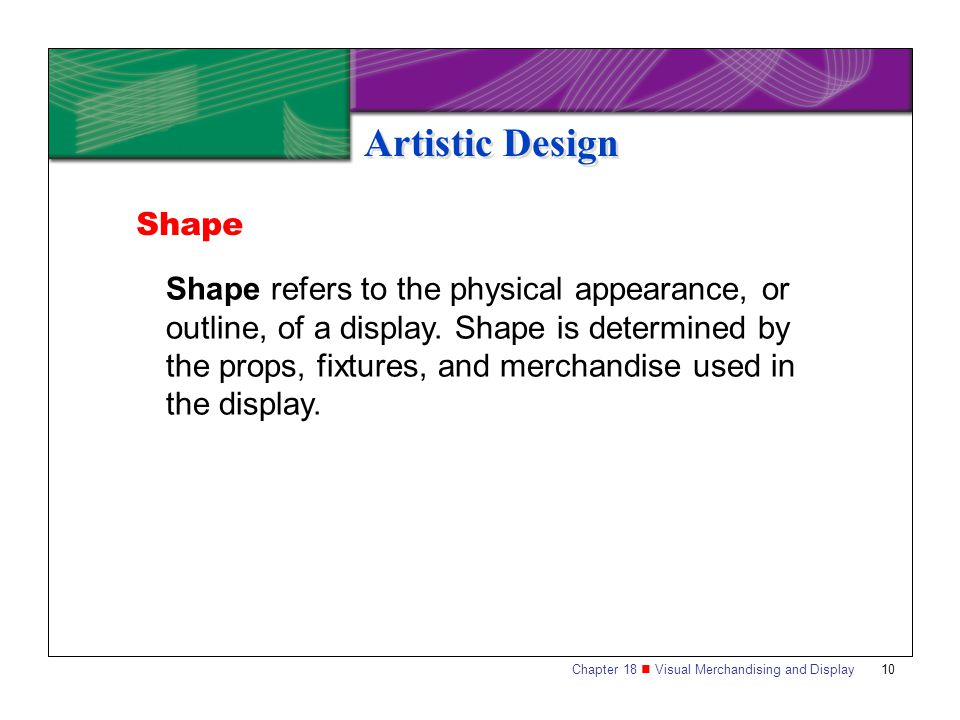 Artistic Design Shape.