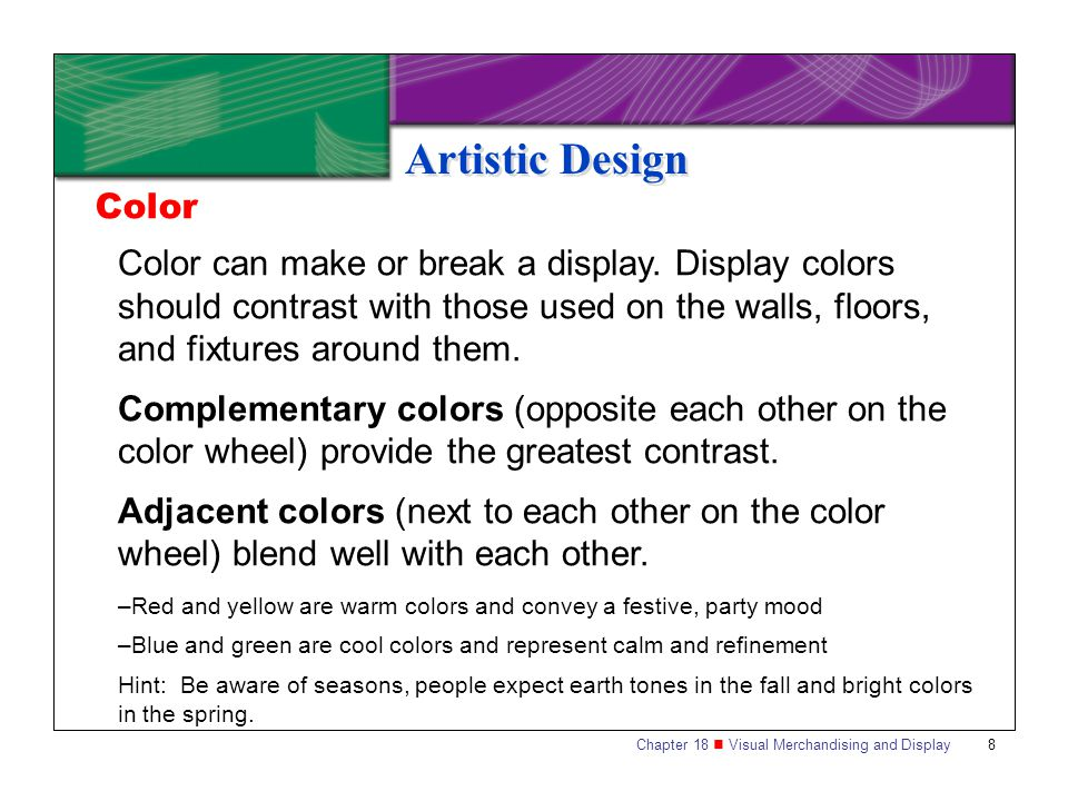 Artistic Design Color.