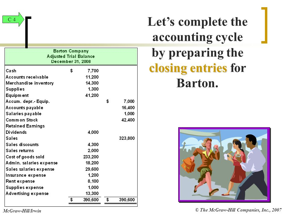 Let's complete the accounting cycle by preparing the
