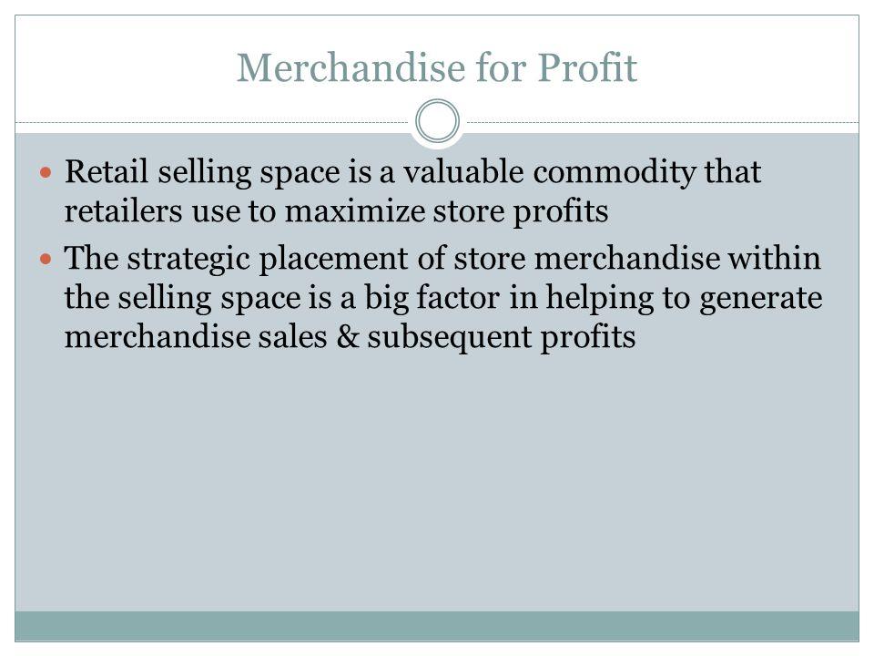 Merchandise for Profit