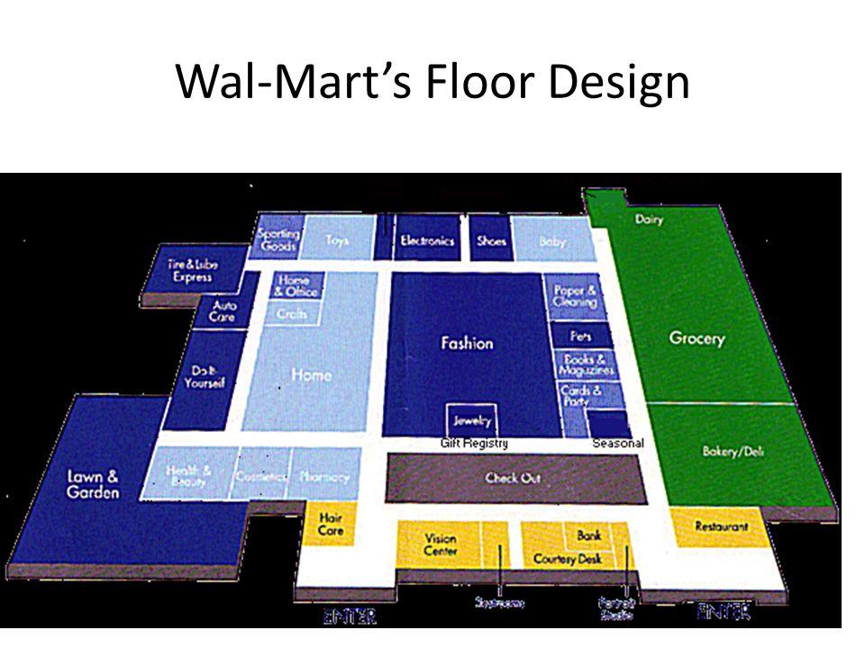 Wal-Mart's Floor Design