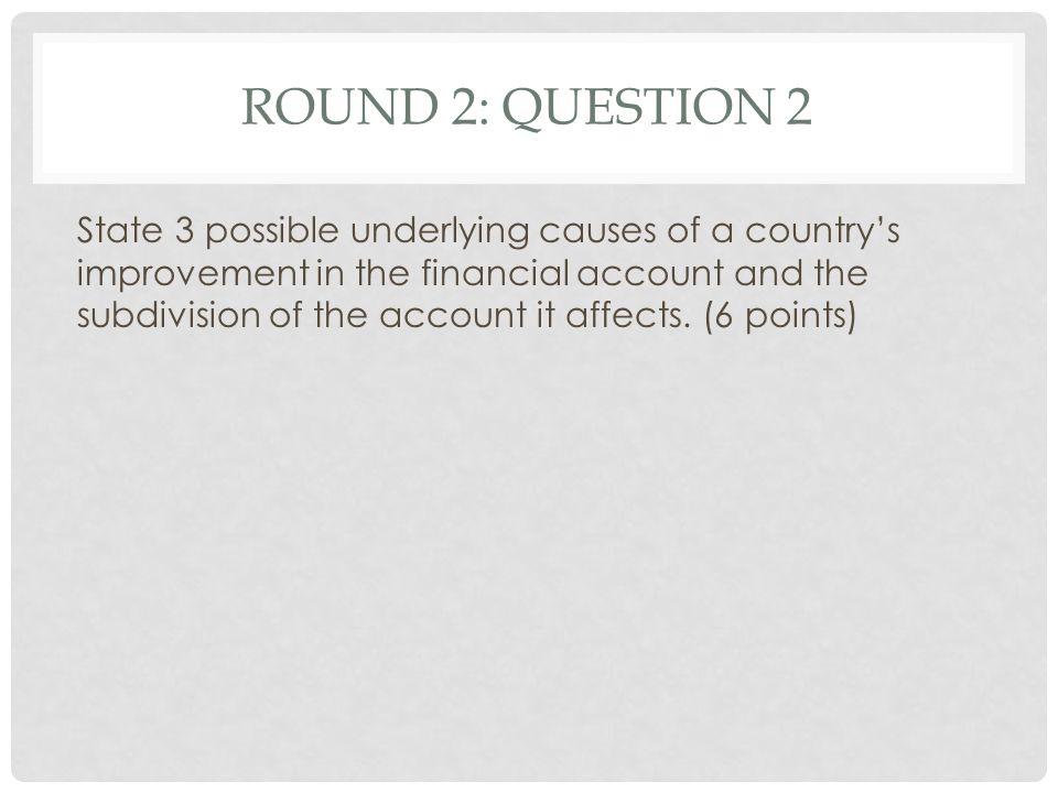 Round 2: Question 2