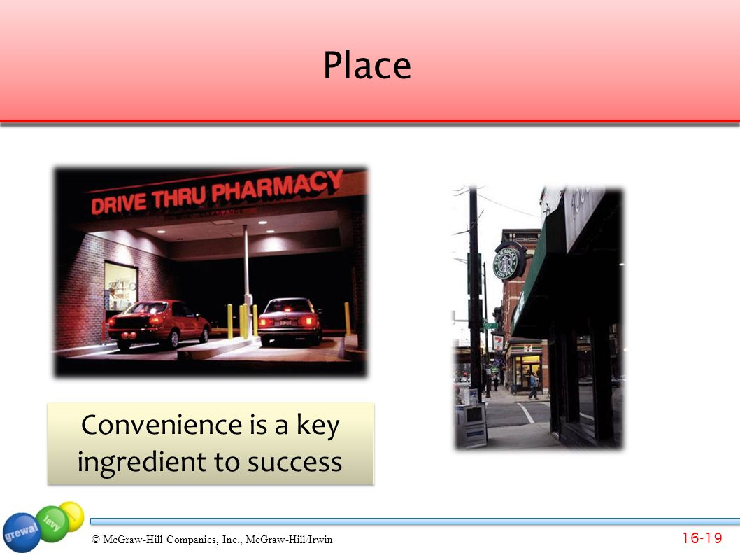 Convenience is a key ingredient to success