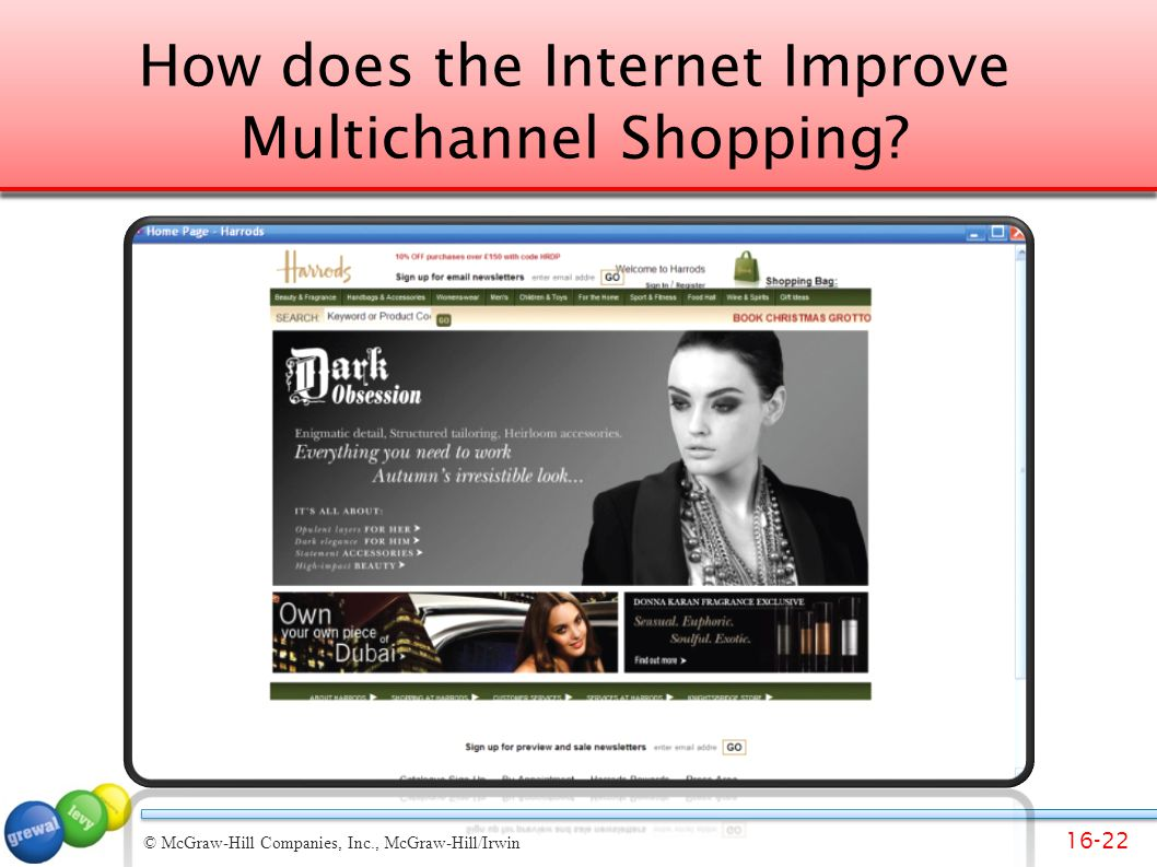 How does the Internet Improve Multichannel Shopping