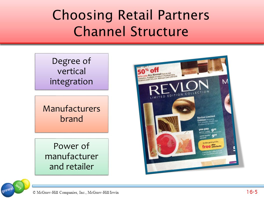 Choosing Retail Partners Channel Structure