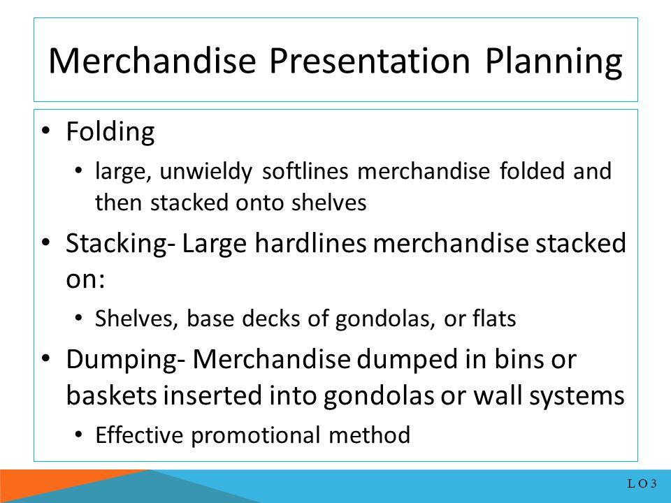 Merchandise Presentation Planning