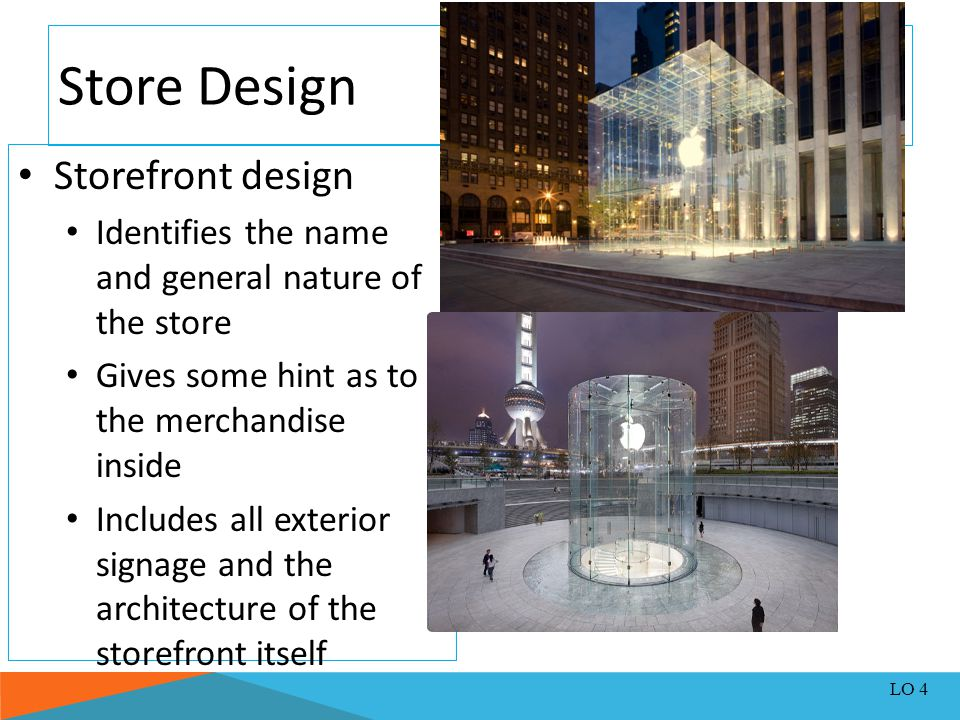 Store Design Storefront design