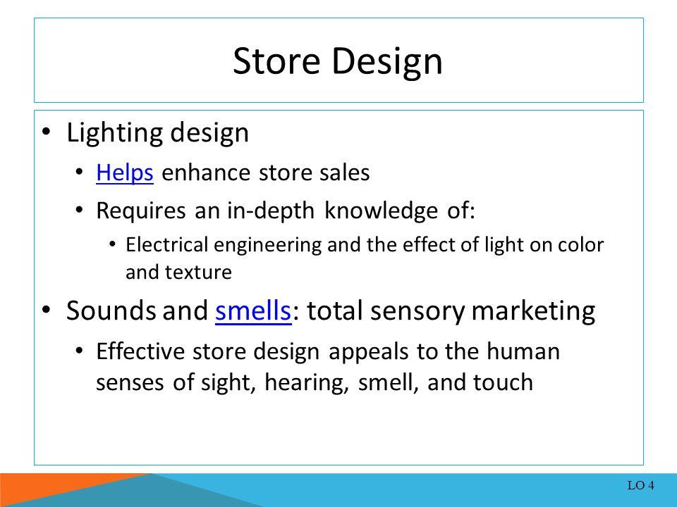 Store Design Lighting design