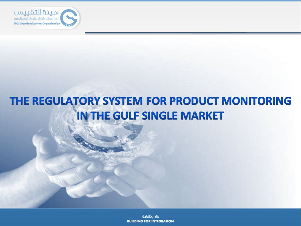 THE REGULATORY SYSTEM FOR PRODUCT MONITORING IN THE GULF SINGLE MARKET