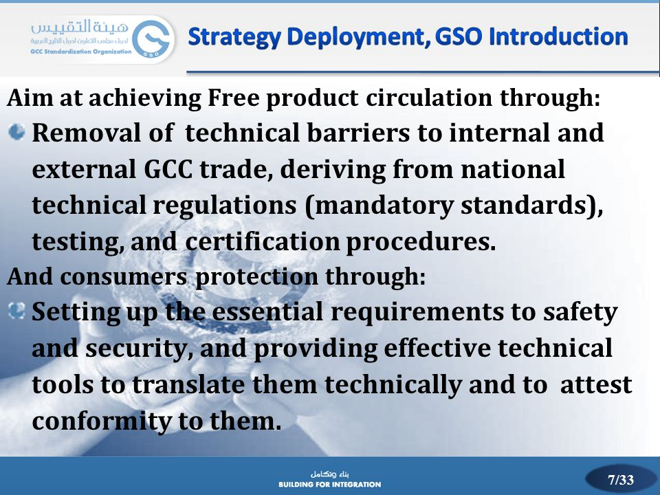 Strategy Deployment, GSO Introduction