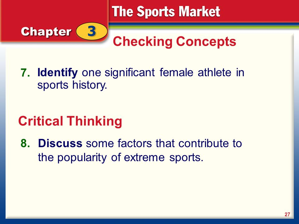 Checking Concepts Critical Thinking 7.