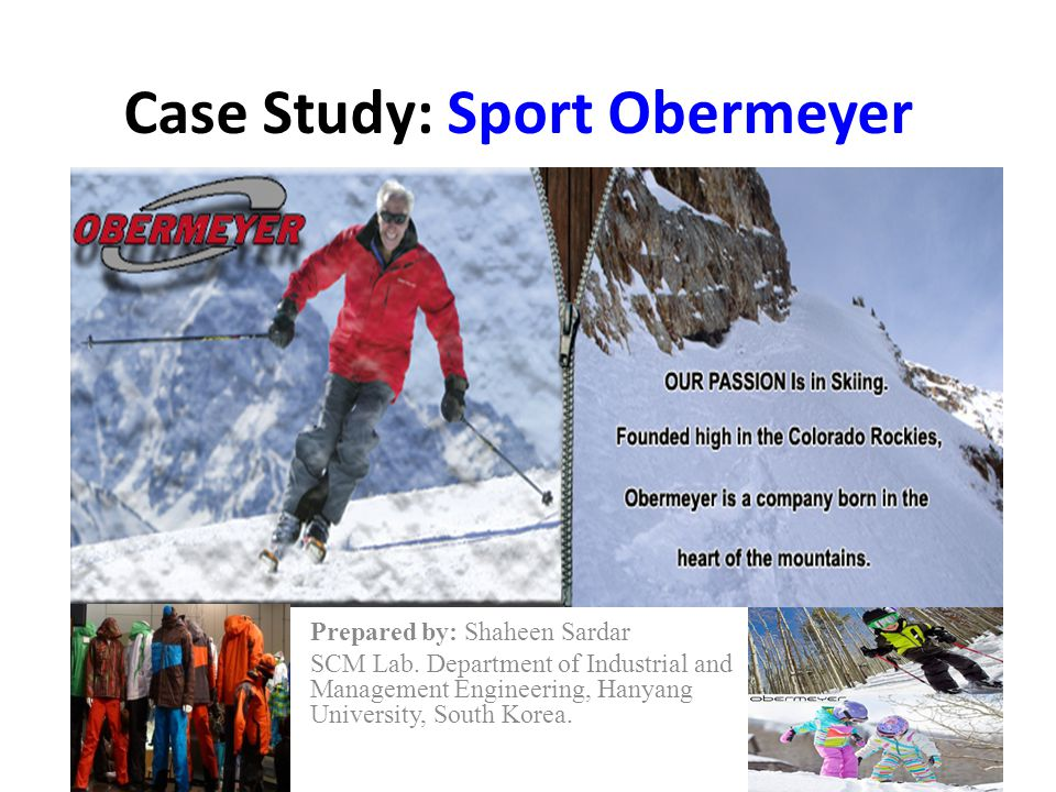 Case Study: Sport Obermeyer