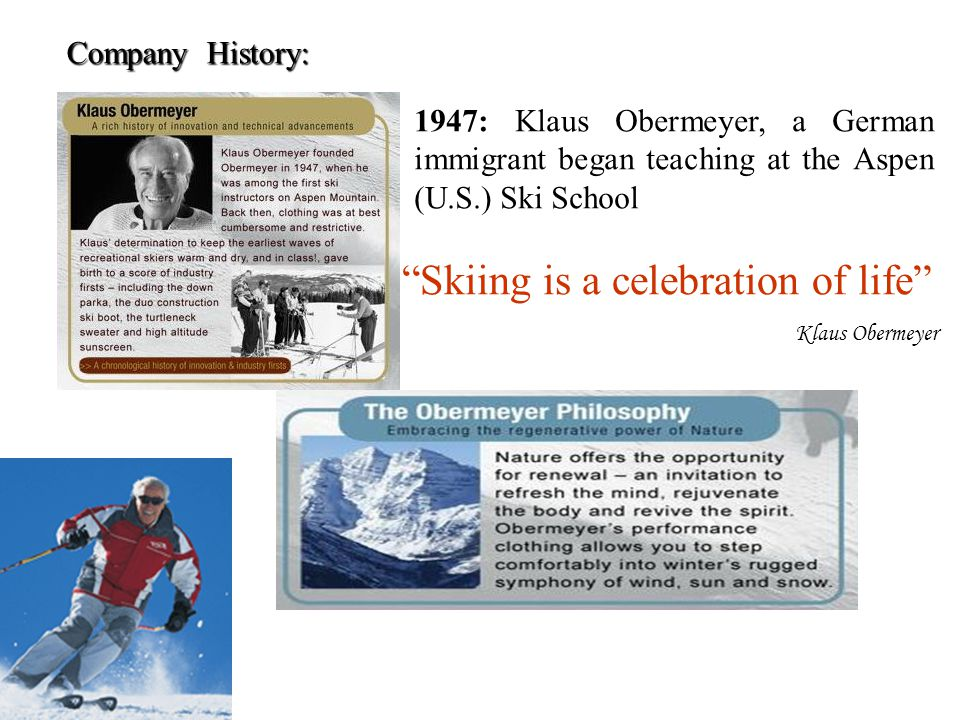 Skiing is a celebration of life