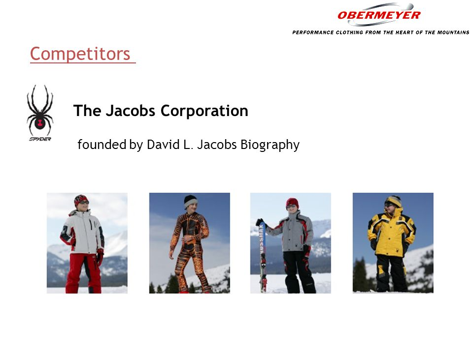Competitors The Jacobs Corporation
