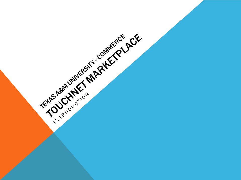 Texas A&M University - Commerce Touchnet Marketplace