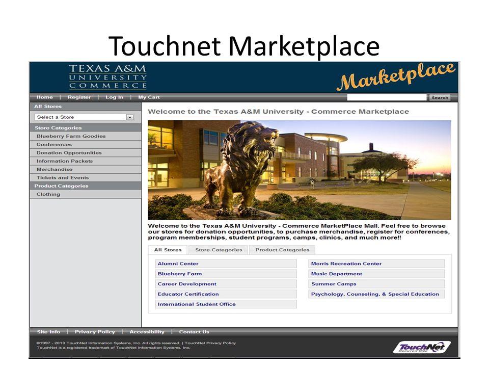 Touchnet Marketplace