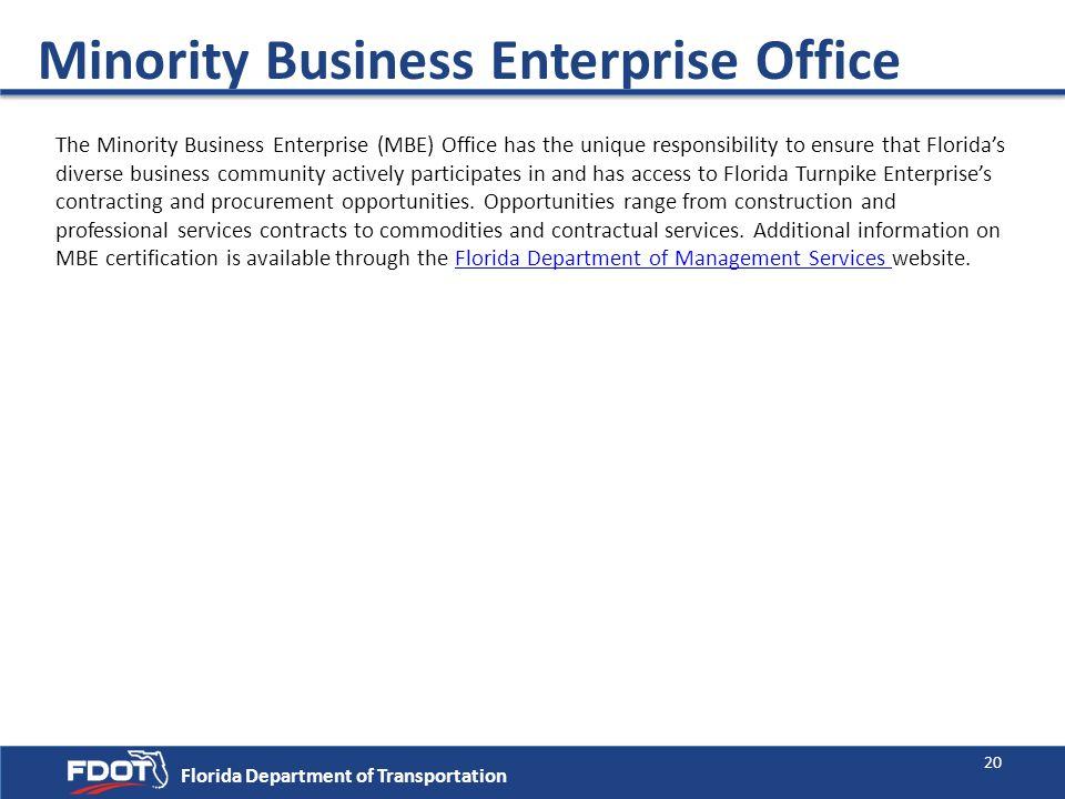 Minority Business Enterprise Office