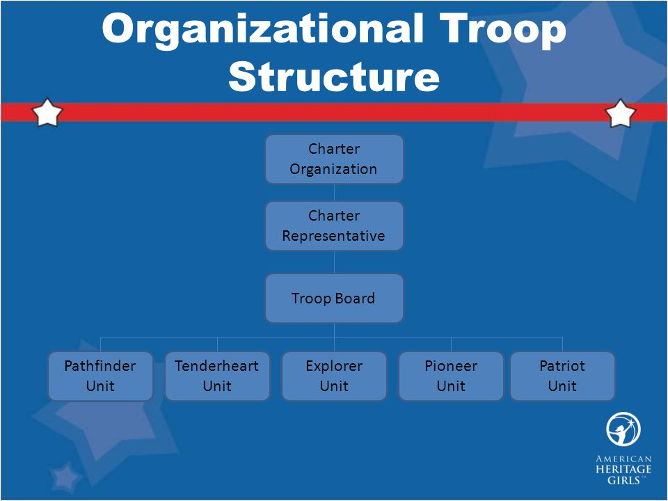 Organizational Troop Structure