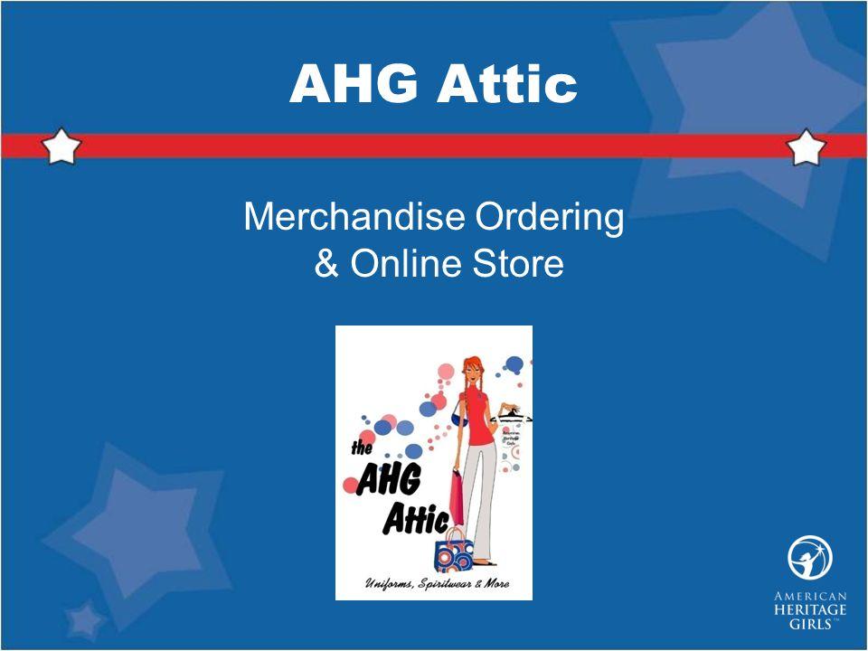 Merchandise Ordering & Online Store