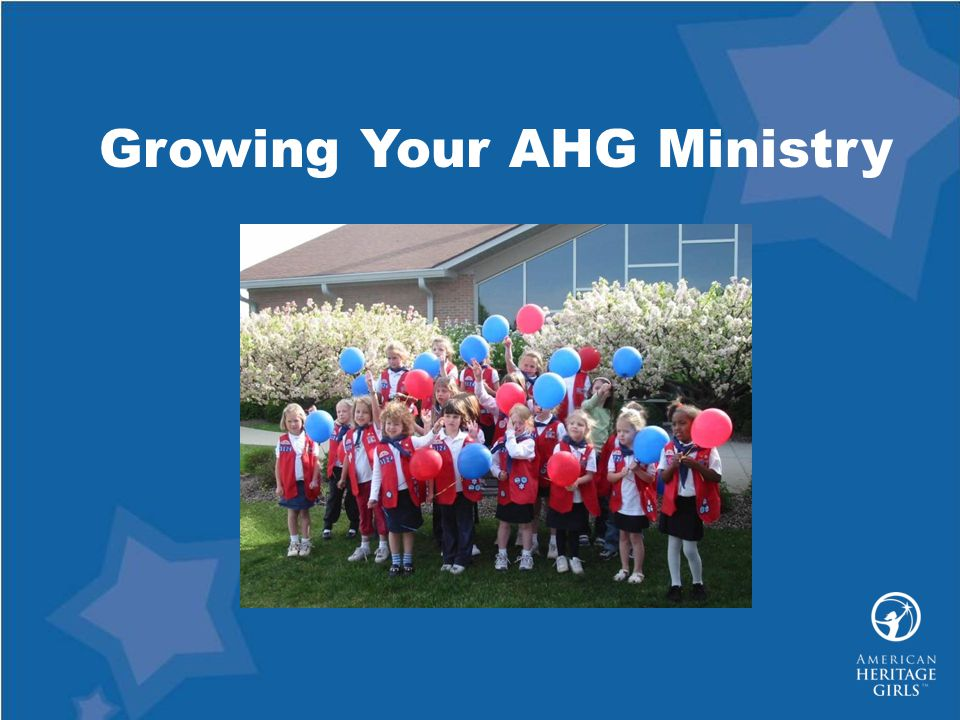 Growing Your AHG Ministry