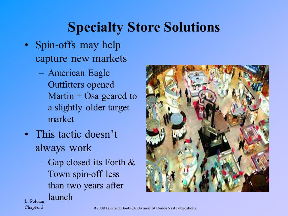 Specialty Store Solutions