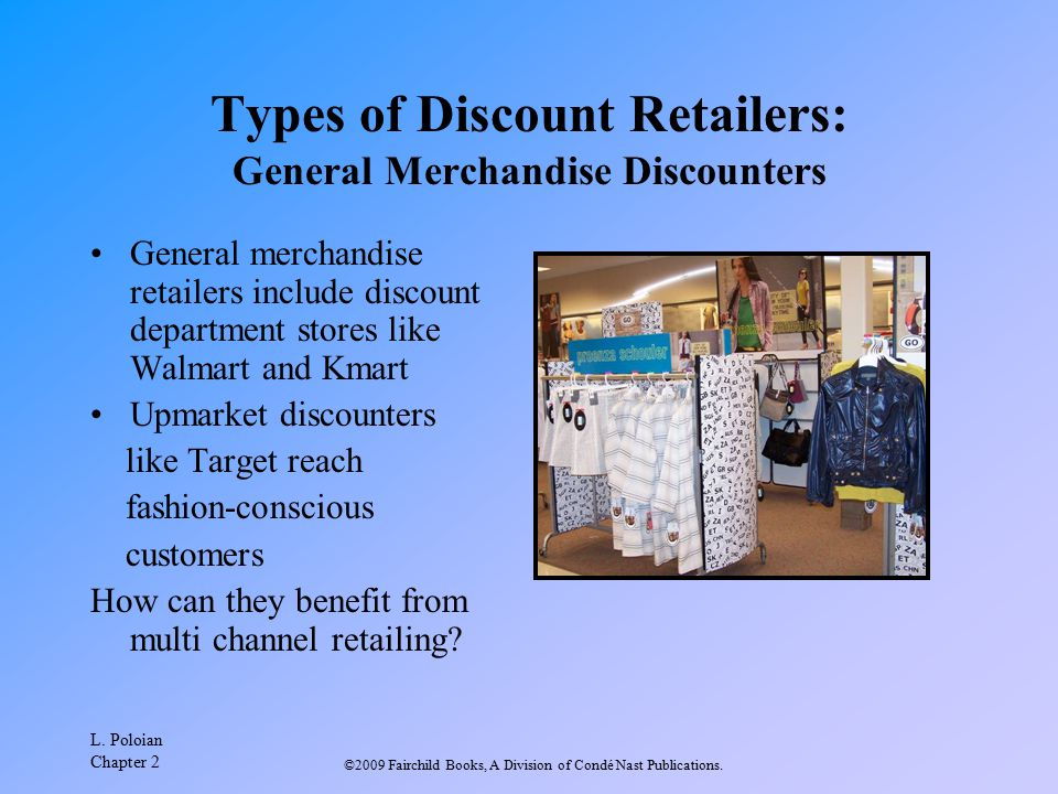Types of Discount Retailers: General Merchandise Discounters