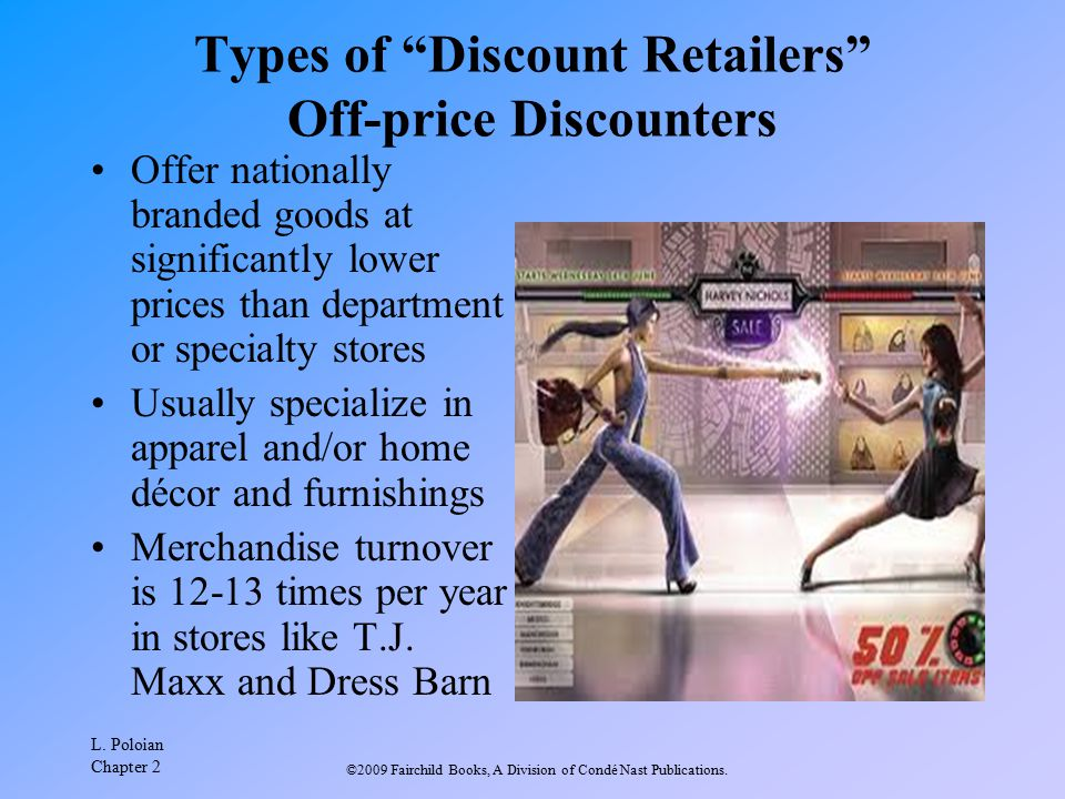 Types of Discount Retailers Off-price Discounters