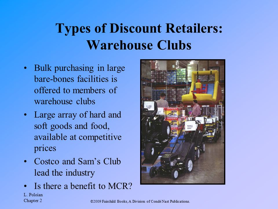 Types of Discount Retailers: Warehouse Clubs
