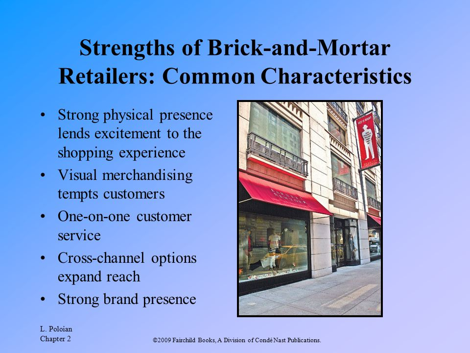 Strengths of Brick-and-Mortar Retailers: Common Characteristics