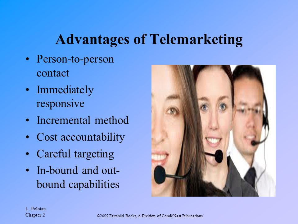 Advantages of Telemarketing