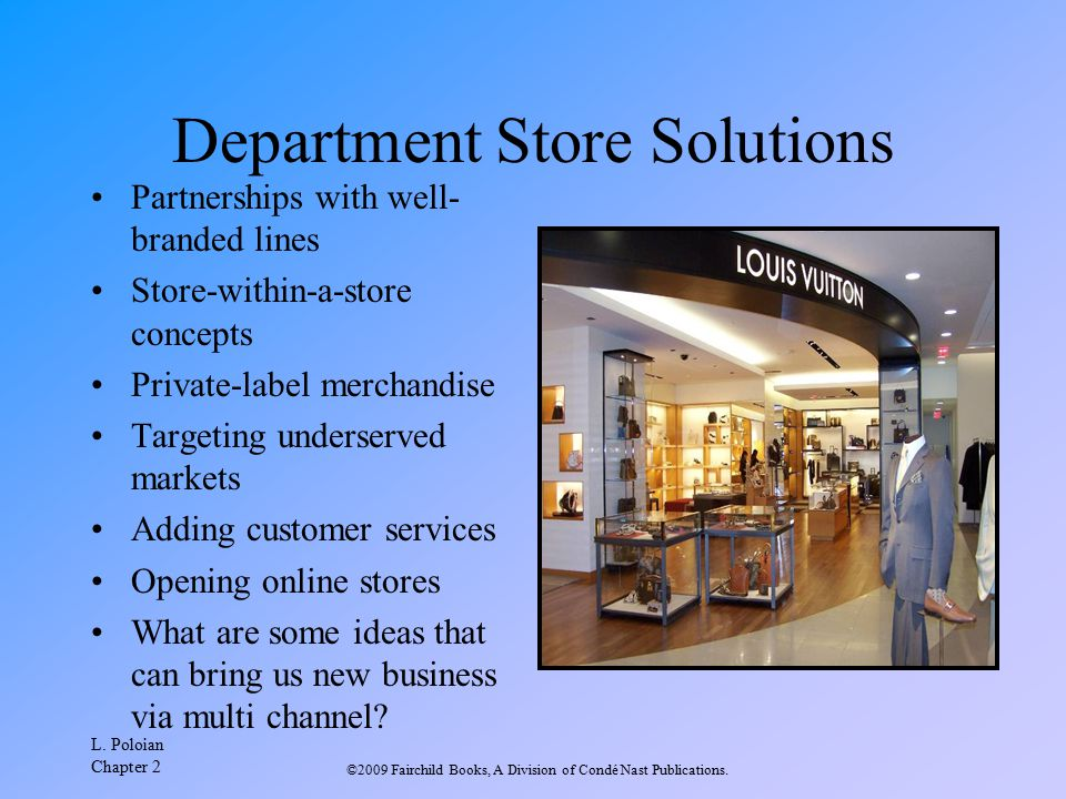 Department Store Solutions