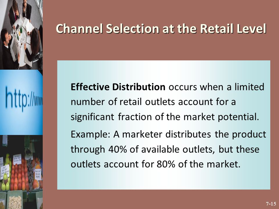 Channel Selection at the Retail Level