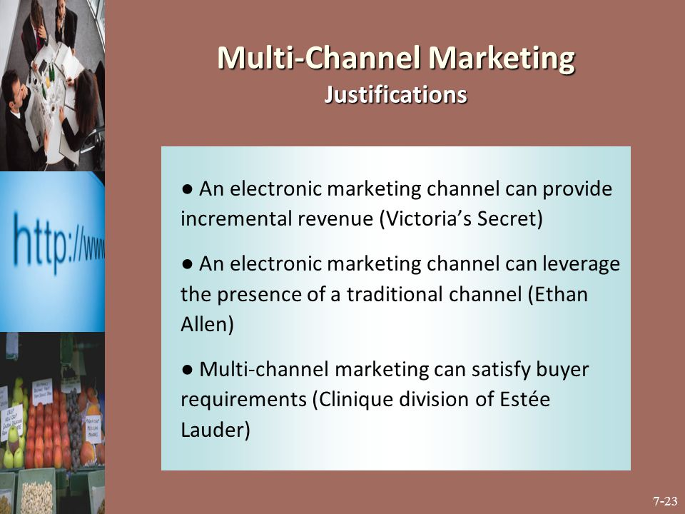 Multi-Channel Marketing Justifications