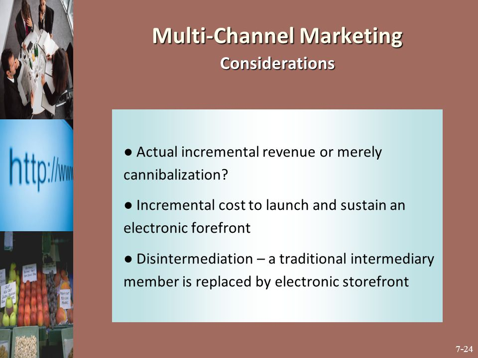 Multi-Channel Marketing Considerations