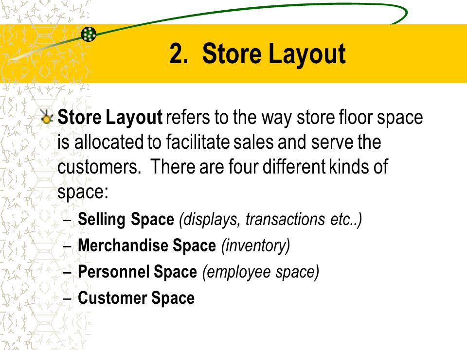 2. Store Layout
