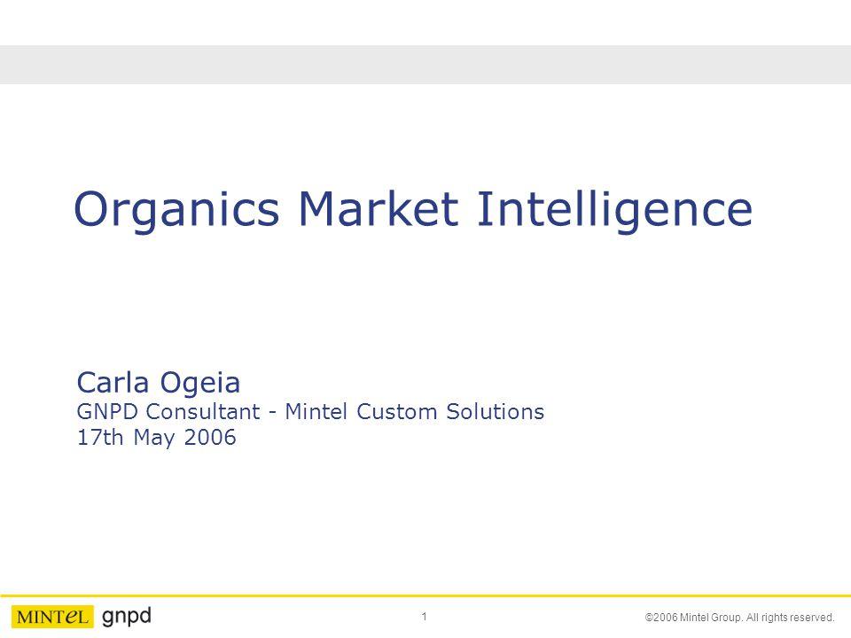 Organics Market Intelligence
